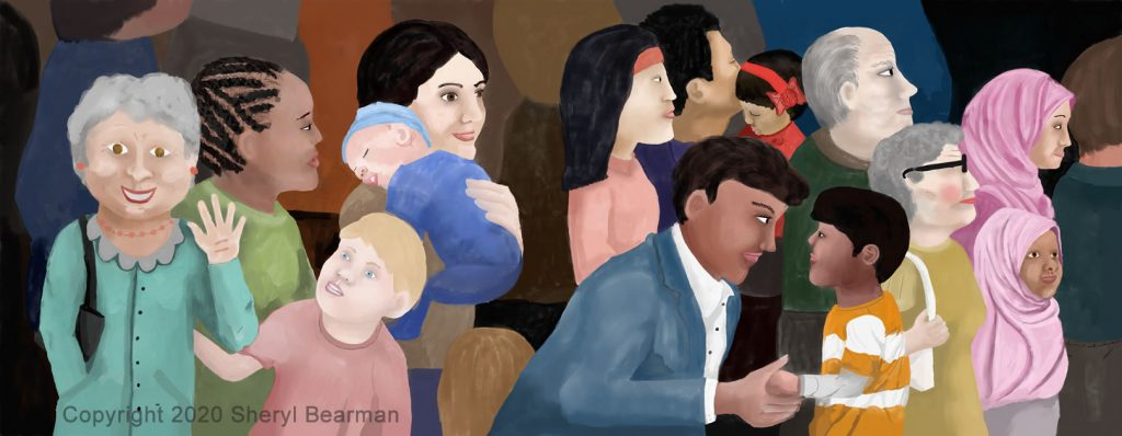Children's picture book - Illustration - full spread